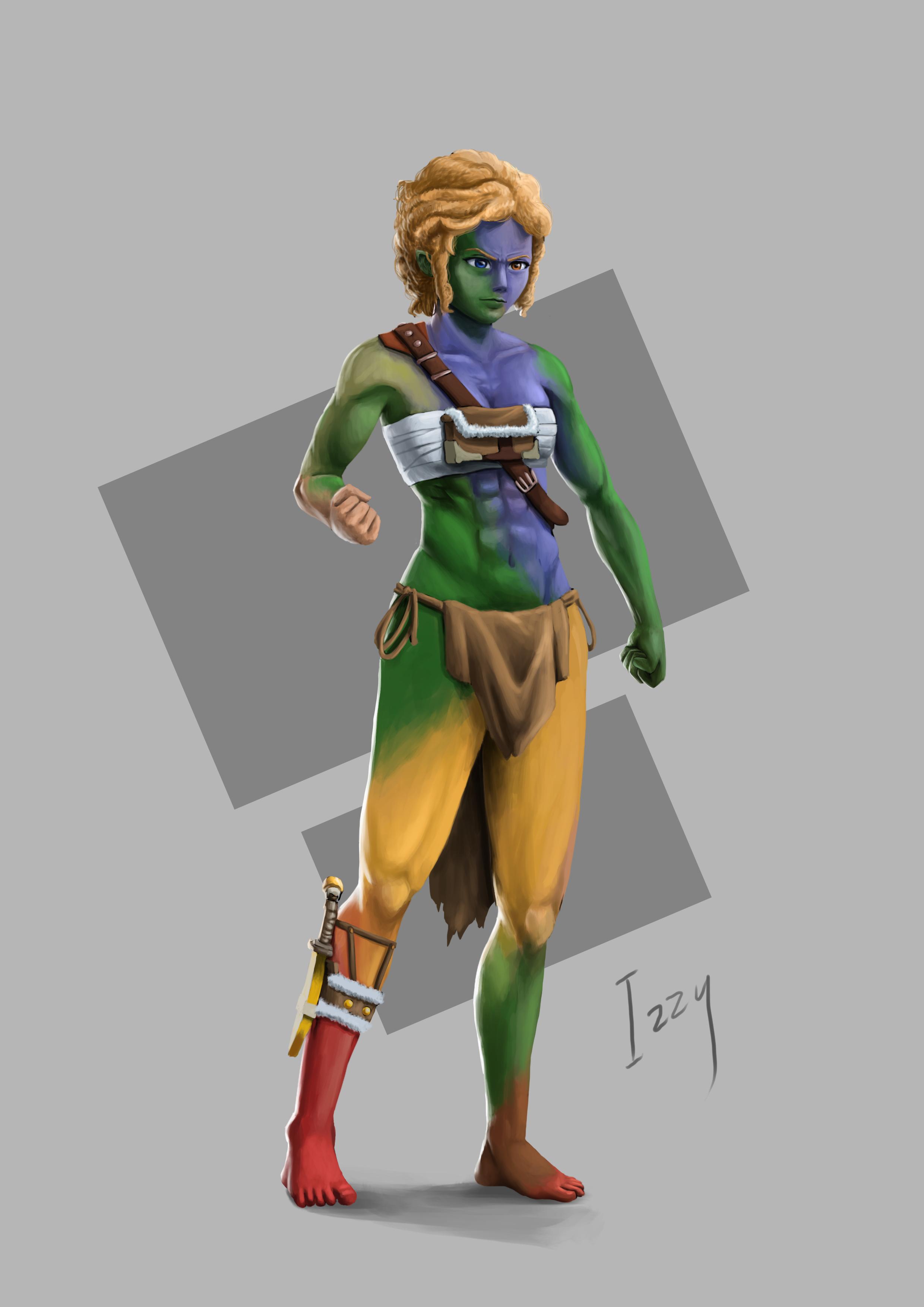 Zanian Warrior